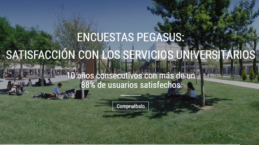 Portal Web de resultados de las encuestas sobre los servicios universitarios