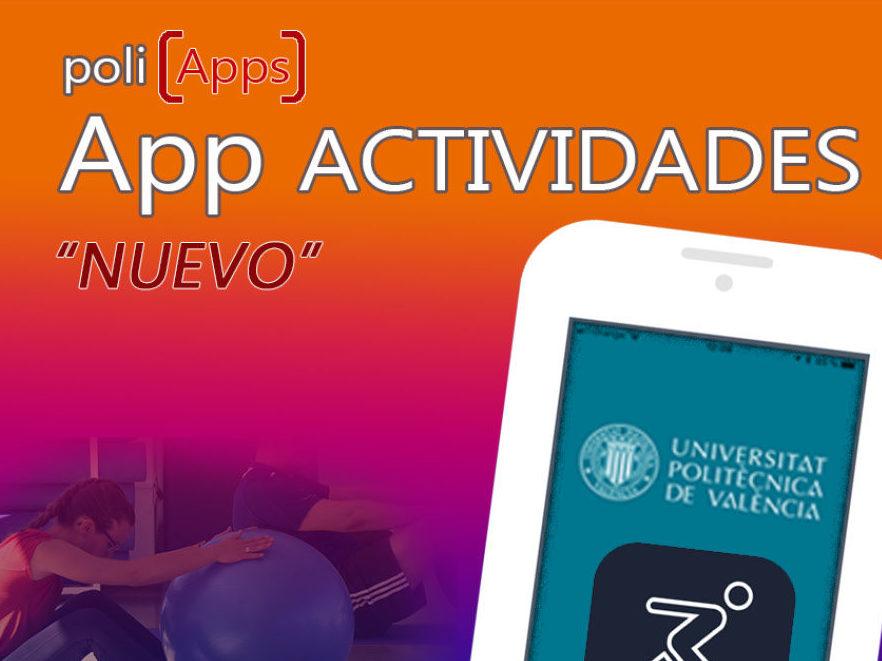 Nueva app móvil del Servicio de Deportes